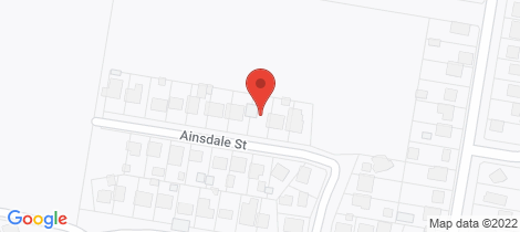 Location map for 9 Ainsdale Street Sussex Inlet