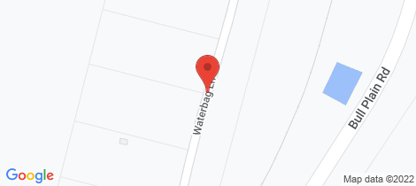 Location map for 24 Waterbag Lane Rennie