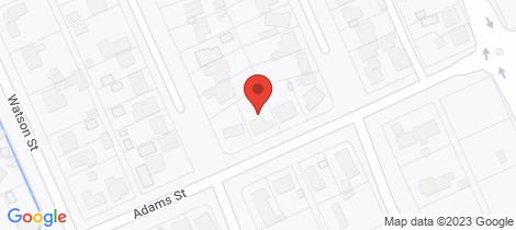 Location map for 118 Adams Street Jindera