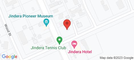Location map for 2/143 Urana Street Jindera
