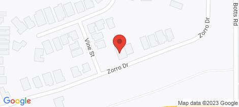Location map for 87 Zorro Drive Yarrawonga