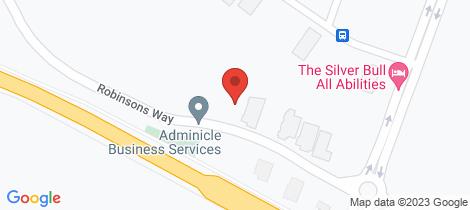 Location map for 14 Robinson Way Yarrawonga