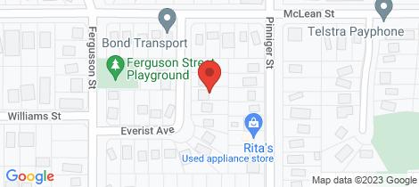 Location map for 6 Everist Avenue Yarrawonga