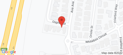 Location map for 6 Osprey Street Thurgoona
