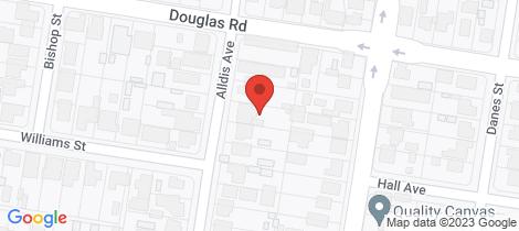 Location map for 496 Alldis Avenue Lavington