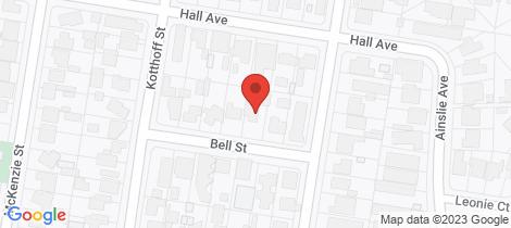 Location map for 446 Bell Street Lavington