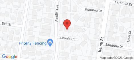 Location map for 420 Leonie Court Lavington