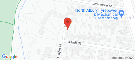 Location map for 602 Welsh Street Lavington