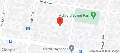Location map for 451 Ashford Street Lavington