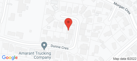 Location map for 62 Dunne Crescent Thurgoona