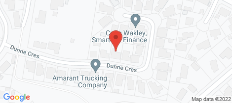 Location map for 38 Dunne Cresent Thurgoona