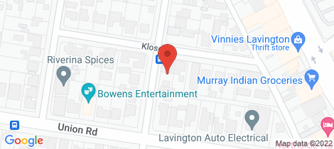 Location map for 531 Klose Street Lavington