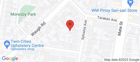 Location map for 1061 Sylvania Avenue North Albury