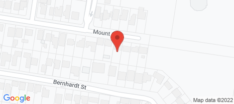 Location map for 215 Mount Street East Albury