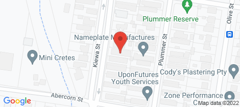 Location map for 202 Kiewa Street South Albury