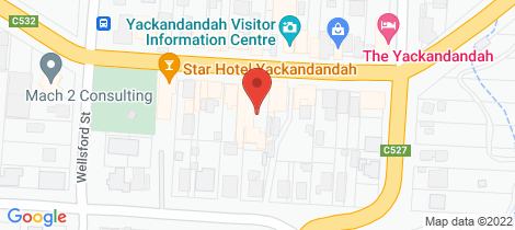 Location map for 18 High Street Yackandandah