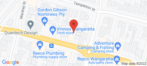 Location map for 26 Rowan Street Wangaratta