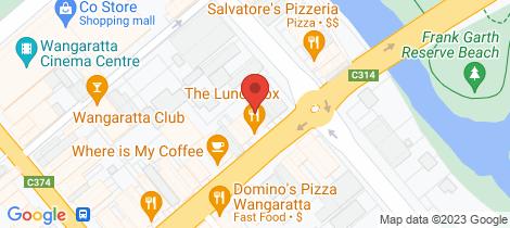 Location map for 6/111 Murphy Street Wangaratta