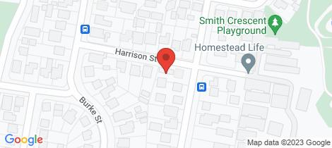 Location map for 6A Harrison Street Wangaratta