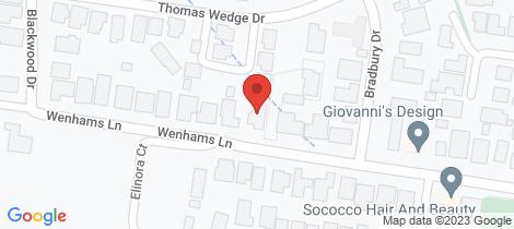 Location map for 74 Wenhams Lane Wangaratta