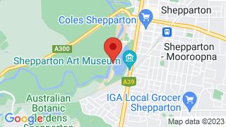 Map of Aquamoves Lakeside Shepparton