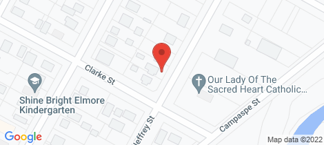 Location map for 23 Jeffrey Street Elmore
