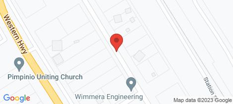 Location map for 12 Miller Street Pimpinio