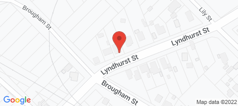 Location map for 17 Lyndhurst Street Bridgewater
