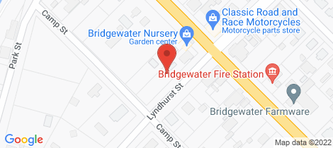 Location map for 21 Main Street Bridgewater