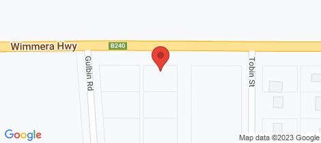 Location map for Lot 1/51 - 57 Comyn Street Murtoa