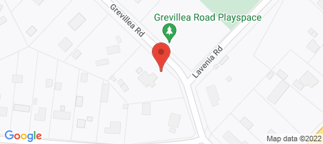 Location map for 5 Grevillea Road Huntly