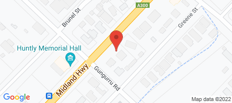 Location map for 660 Midland Highway Huntly
