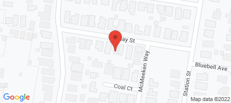 Location map for 11B Blay Street Epsom