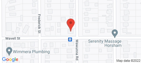 Location map for 83 Wawunna Road Horsham