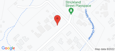 Location map for 54 Strickland Street Ascot