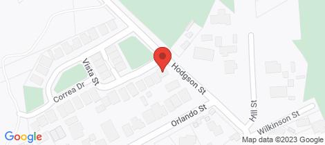 Location map for 1 Vista Street Eaglehawk