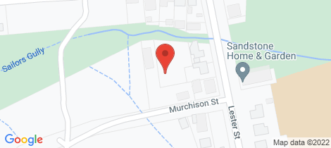 Location map for 2 Murchison Street Sailors Gully