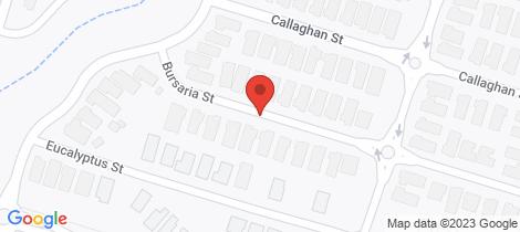 Location map for Lot 1020 Bursaria Street Jackass Flat