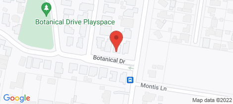 Location map for 4 Botanical Drive Epsom