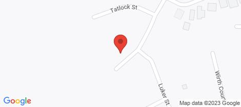 Location map for 32 Arthur Drive Horsham