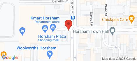 Location map for 3 Beddison's Road, Pimpinio Horsham