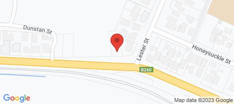 Location map for 2 Peg Leg Road Eaglehawk