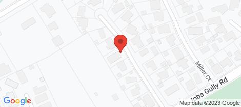 Location map for 4 Billola Court Eaglehawk