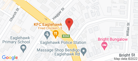 Location map for 71 High Street Eaglehawk