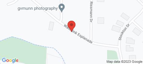 Location map for Lot 33 Waterlink Esplanade Horsham