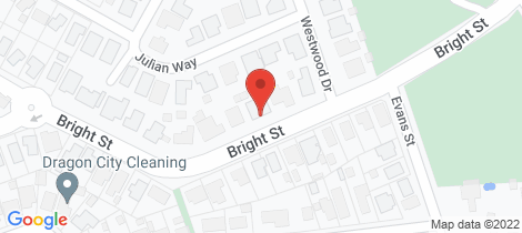 Location map for 87 Bright Street California Gully