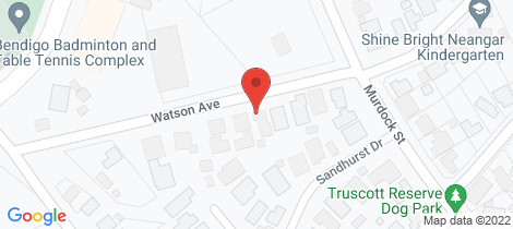 Location map for 41 Watson Avenue California Gully
