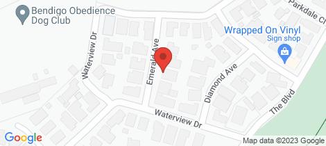 Location map for 6 Emerald Avenue White Hills