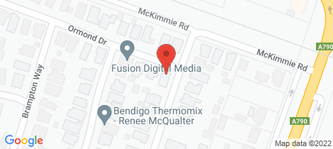 Location map for 1 Ormond Drive Marong