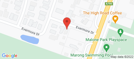 Location map for 6 Evermore Drive Marong